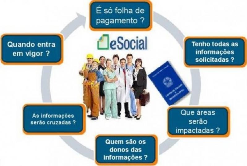 Onde Encontro Plataforma ESocial para Folha de Pagamento Vila Andrade - Plataforma ESocial Admissional