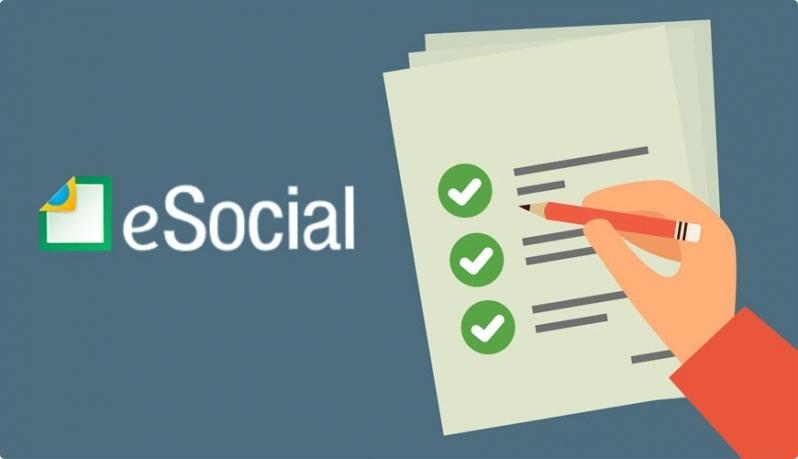 Plataforma ESocial para Exames Periódicos Preço Pirituba - Plataforma ESocial Admissional