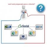 exame admissional eSocial preço Santa Cecília