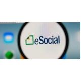 exames admissionais eSocial onde encontro Santa Cecília