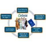 exames complementares no eSocial onde encontro Jaçanã