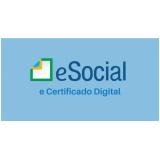 exames no eSocial periódico Brasilândia