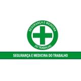 medicina e segurança do trabalho Jardim Paulistano