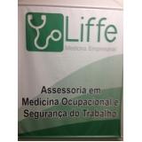 onde encontrar medicina e segurança do trabalho Jardim São Paulo