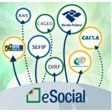 onde encontro plataforma eSocial para exames admissionais Parque São Rafael