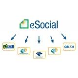 onde encontro plataforma eSocial para exames trabalhistas Santa Cecília