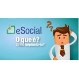 PCMSO no eSocial valor Jardim São Luiz