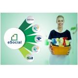 plataforma eSocial para exames admissionais Jardim Iguatemi