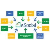plataforma eSocial para exames periódicos onde encontro Glicério