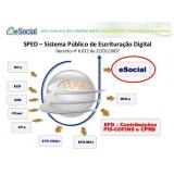 plataforma eSocial para exames trabalhistas preço Pinheiros