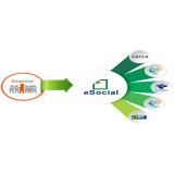 plataforma eSocial para folha de pagamento preço Água Funda