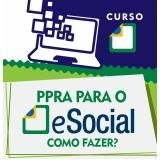 plataformas eSocial para exames trabalhistas Parque São Rafael